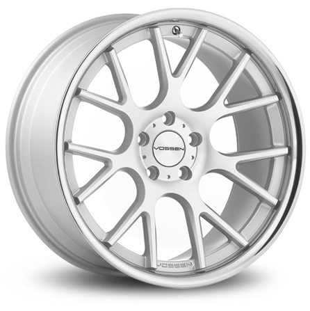 Vossen VVSCV2 - MATTE SILVER MACHINED / Stainless Lip
